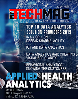 MYTECHMAG Magazine Data Analytics Edition May 2019
